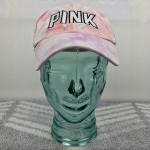 PINK Tie Dye Baseball Cap Dad Hat
